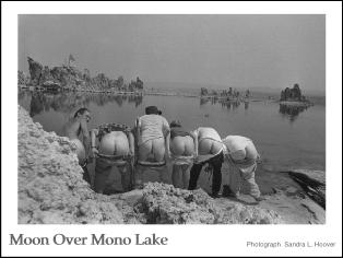 Moon Over Mono Lake poster